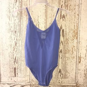 Pink by Victoria's Secret body suit small